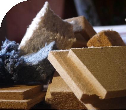 Un choix de matériaux allant du gros œuvre à la finition