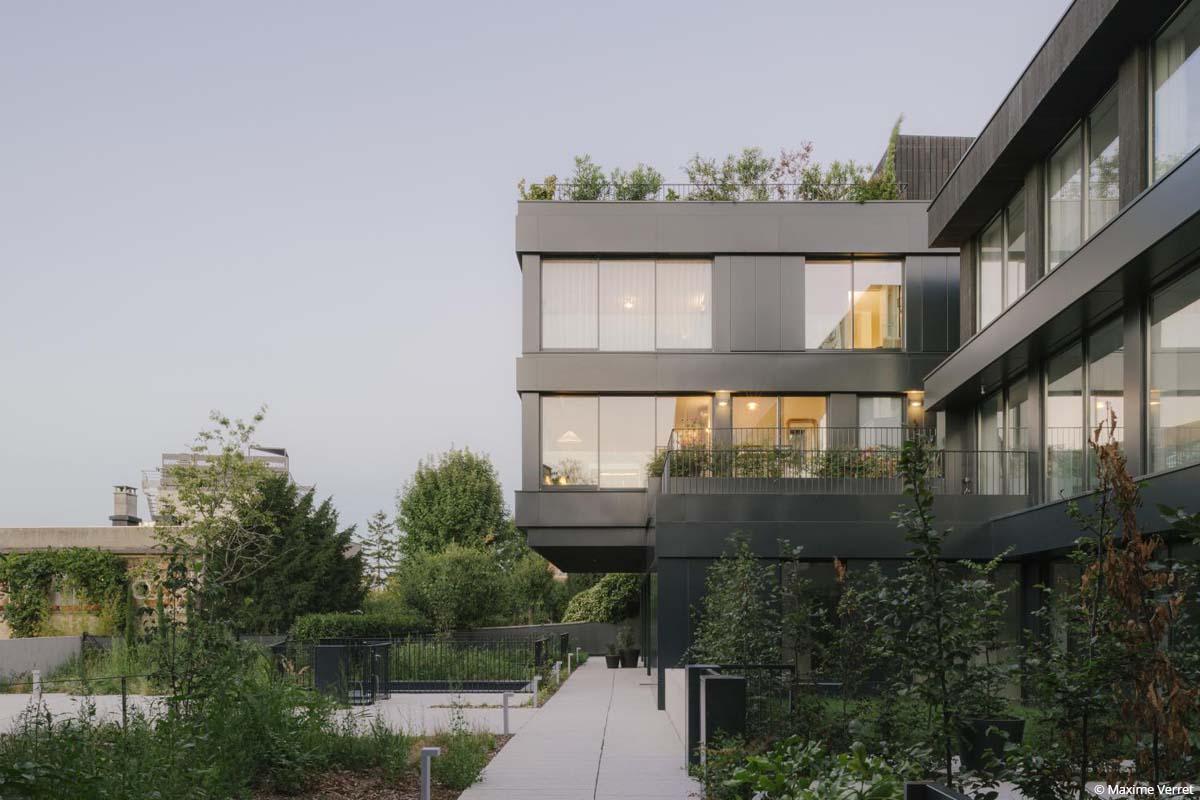 bâtiment biosourcé immeuble de logements isolants biosourcés