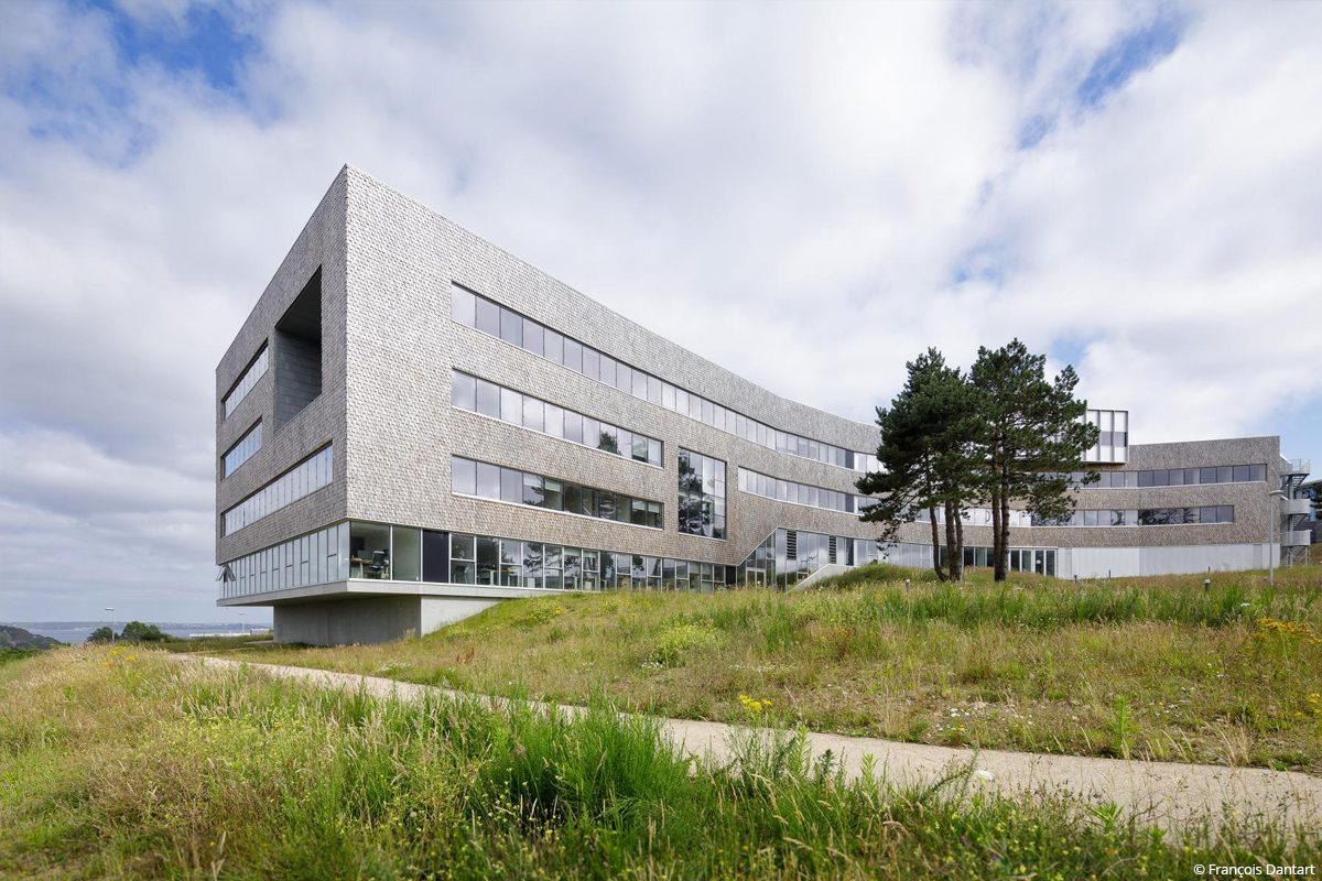 Ifremer bâtiment biosourcé isolation chanvre lin murs à ossature bois charpente bois matériaux biosourcés