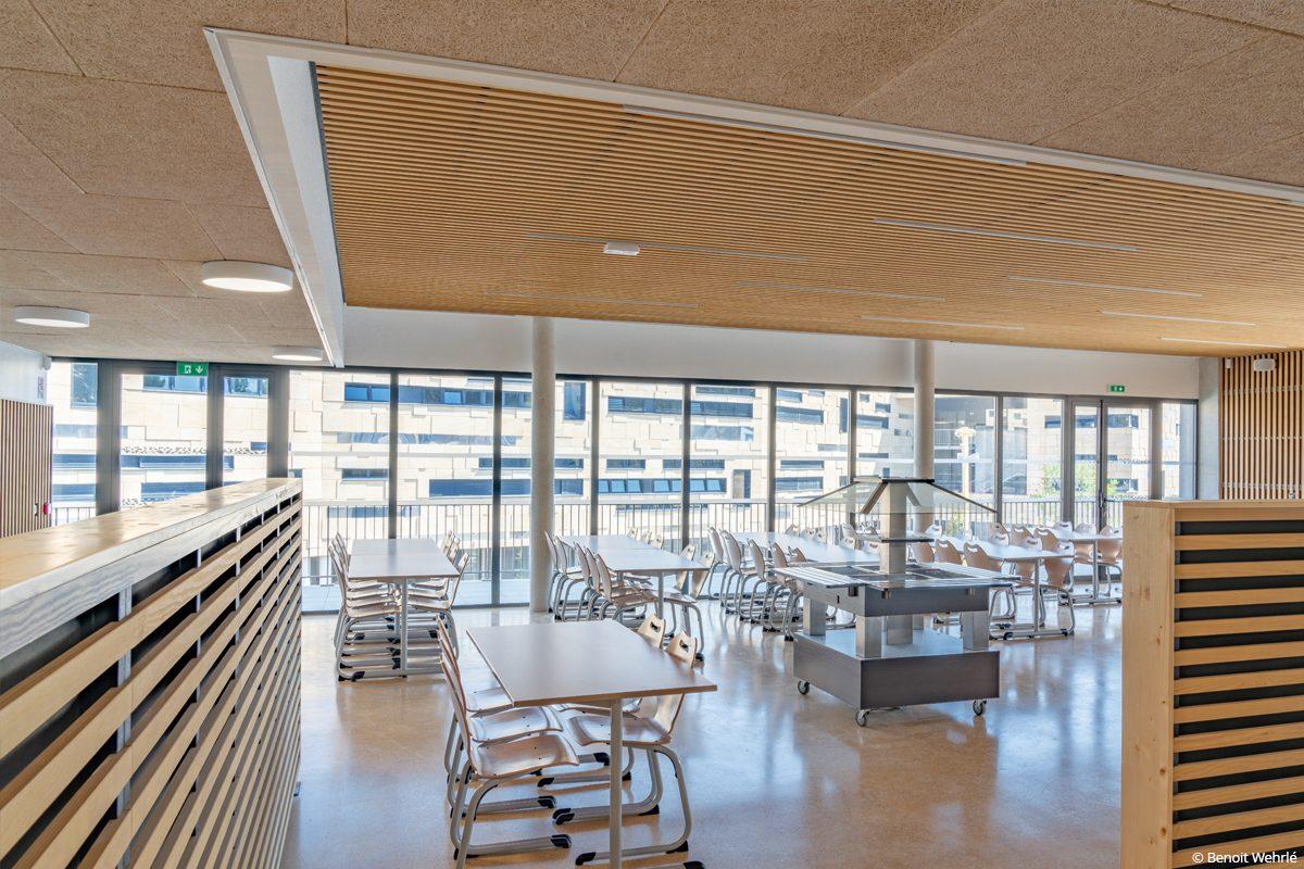 bâtiment biosourcé collège ada lovelace nîmes isolants biosourcés